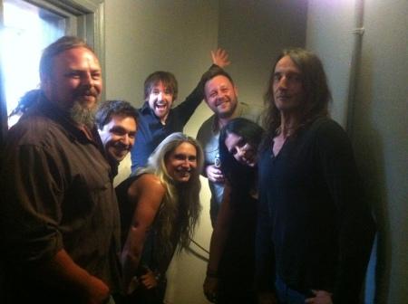 Angie and band at Bath